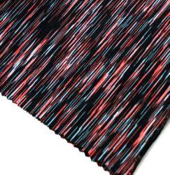 L'espace de tricot de polyester de colorant spandex Jersey tissus pour vêtements de sport