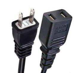 Computer-Netzanschlusskabel-Computer-Energien-Kabel PC Netzanschlusskabel-Stromversorgungen-Netzkabel-Computer-Netzkabel