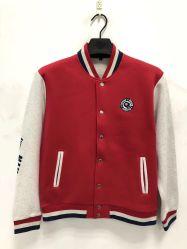 Los hombres chaqueta de béisbol de la guata personalizado Letterman Chaqueta Varsity en blanco
