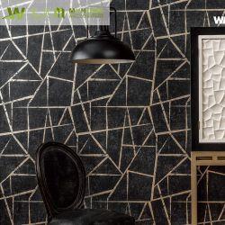 2019 moderne de haute qualité de papier peint pour salle de séjour en Métal Décoration
