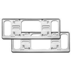金属のナンバープレートフレームは車のためのナンバープレートフレームを個人化した