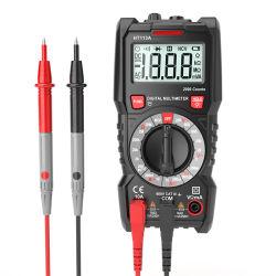 La capacitancia de mano eléctrico profesional de precisión de bolsillo Multímetro digital inteligente Tester digitales multímetros True RMS