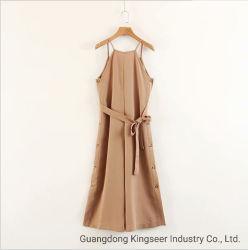 2019 새로운 Design Fashion Lady Spring 또는 Summer Children Apparel Women Clothes Stripe Flower Girl Dress Apparel