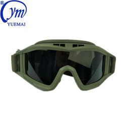 Justierbare Airsoft schützende Sicherheitsglas-taktische Militärschießen-UVschutzbrillen