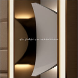 Houten LEIDENE het van uitstekende kwaliteit van de Kunst Licht van de Muur voor Slaapkamer