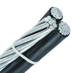 L'aluminium Quadruplex Duplex Service Triplex drop câble électrique PVC Câble électrique à isolation en polyéthylène réticulé ABC Passage de câble en aluminium