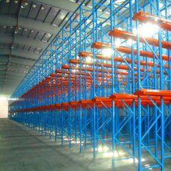 Entrepôt industriel robuste en acier disque de stockage de rayonnage à palettes