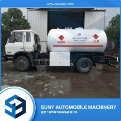 Goede Quality6 Speculant 15cbm de Auto van de Container van het Gas van LPG