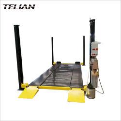L'élévateur hydraulique électrique rotatif à 4 postes de réceptacle Parking voiture au parking de levage ou la réparation de voitures
