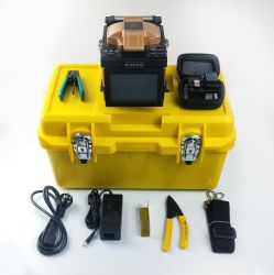 FTTH Faser-Optikkabel-Schmelzverfahrens-Filmklebepresse-Kabel-Schmelzverfahrens-verbindener Installationssatz