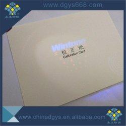 Impresión personalizada Anti-Fake Certificados de lámina de holograma