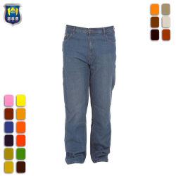 Van de Katoenen van de Was van de Steen van mensen de Donkere Broek van het Werk Klassieke Jeans van de Timmerman