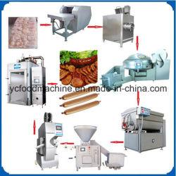 Maquinaria de procesamiento de carne de salchichas industriales