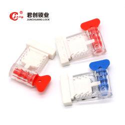 Jcms006 Code à barres de verrouillage de sécurité Sceau du Compteur avec fil en plastique pour l'eau Box