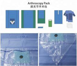 Перекиньте в чехол для колена Arthroscopy Перекиньте Pack больницы используйте одноразовые перекиньте