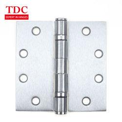 4 1/2 x 4 1/2- 3 Pack 2 Bolas Heavy Duty comercial bisagras de puerta de vidrio