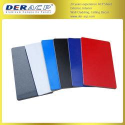 scheda di plastica di alluminio del rivestimento di 3mm/0.3mm PVDF per lo stadio di sport