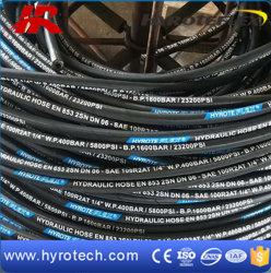 Le fil a renforcé le flexible hydraulique SAE 100 R2AT/DIN EN853 2SN