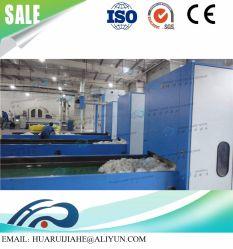 Resistente al fuego de la línea de producción de ropa/refractario que hace la máquina de perforación de aguja de la línea de producción de fieltro ignífugo