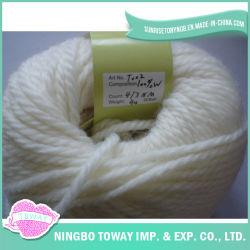Blended Fils de laine de luxe en cachemire remise de la vente de fils à tricoter