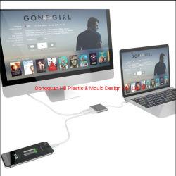 Hb - Adapter HDMI met OTG voor Telefoons type-C en Nintendo Switch*