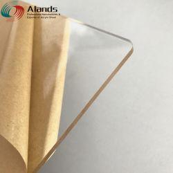 Jinan Alands transparente de plástico transparente lámina de acrílico colado