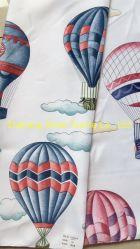 Stof de van uitstekende kwaliteit van het Patroon van de Ballon van de Stof van het Gordijn van Af:drukken