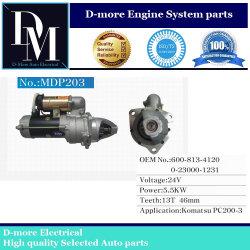 O motor de partida para Komatsu (PC200-3) 6008134111 6008134120 6008134121