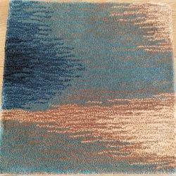 3D手の房状のウールの絹のカーペットの敷物