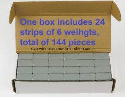1 Boîte de 1 oz de masses de roue de stick-sur un ruban adhésif 9lb 144 PCS sans plomb