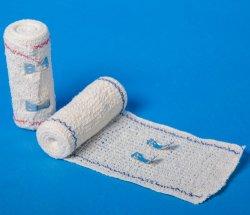 Medizinische Elastische Crepe-Verbände aus Clips Aus Reiner Baumwolle
