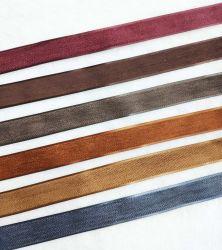 도매 연약한 가죽 끈 트리밍 테이프 형식 의복 부속품