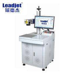 20W, fácil de operar en la marcadora láser de fibra de plástico/metal/Hardware