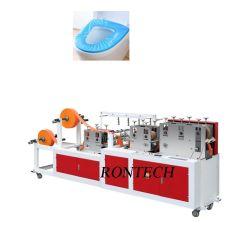 Tapa de Inodoro desechable con elástico máquina de coser