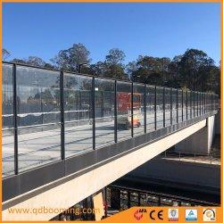 Le verre trempé balustrade jardin/ruraux/panneau de clôture commerciale