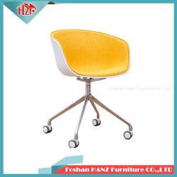 Venta caliente de la rueda de Pie de aluminio con pasamanos Cafetería Restaurante Vino silla de comedor Muebles
