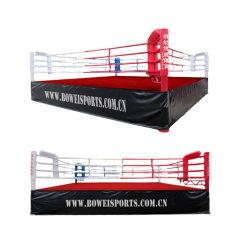 Индивидуальный логотип Ijf стандартных упаковочным оборудованием тренеров обучение по профессиональному боксу кольцо
