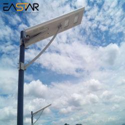 Jardín de alta potencia certificado CE Impermeable IP66 LED de exterior lámpara solar calle