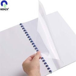 PVC 투명한 A4 책 바인딩 필름 PVC 책 바인딩 덮개
