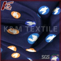 100% seda pesada crepe de seda satén impresos tela con la aprobación de la SGS