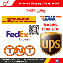 Ropa de los servicios de mensajería urgente desde China a Bélgica.