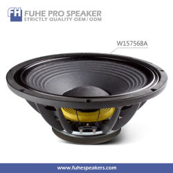 W157568de 15 pulgadas de Altavoces de audio PRO