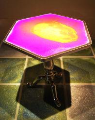 LED Fancy Table à café liquide