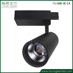 Module d'angle magnétique encastré professionnel SAA Commercial voie lumière LED réglable