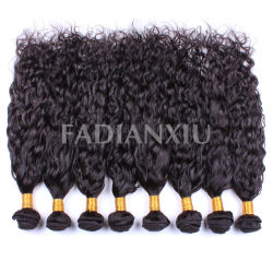 100% нового Aaaaa бразильского человеческого волоса в занос Sew!