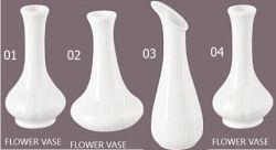 Vaso de flores de porcelana decorativa (01-04)