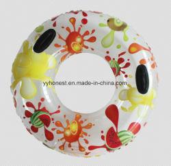 Logotipo personalizado promocional Anel Piscina insuflável de PVC para Adulto