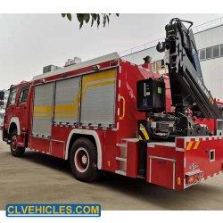 Média de emergência de combate a incêndio multifuncional máquina equipada grua montada o guincho e Luz de Busca para venda