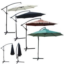 10 футов (3 м), внутренний дворик в саду стали зонтик