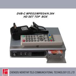 DVB-C HD MPEG2/MPEG4/ H. 264 Decodificador.